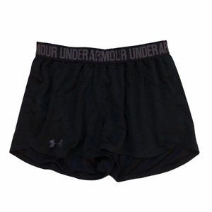 🍃Black And White Under Armour Workout Shorts